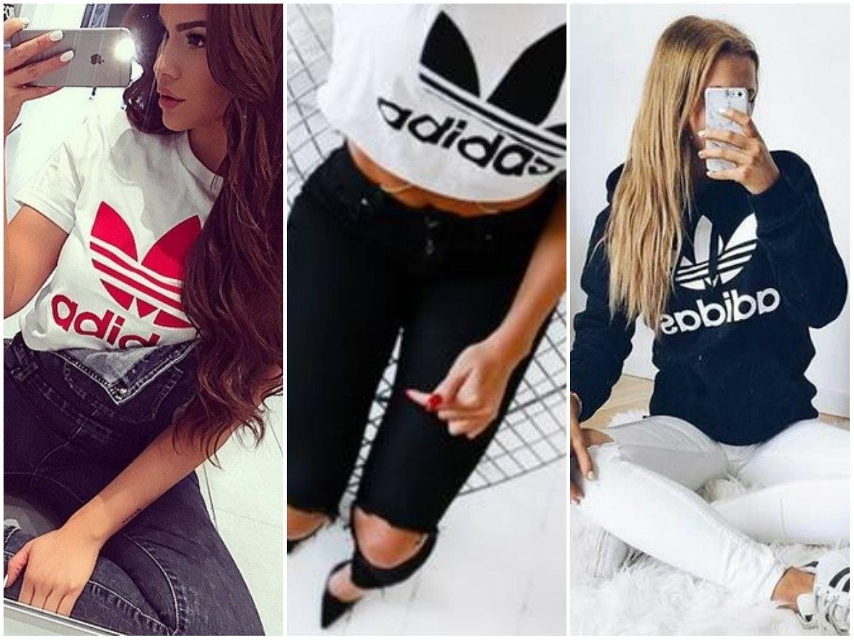 stylizacje z firmą Adidas