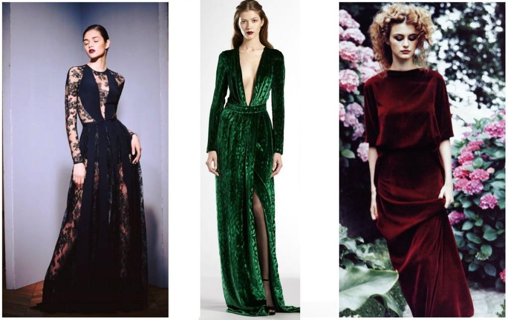 Aksamitne sukienki - idealne na specjalne okazje