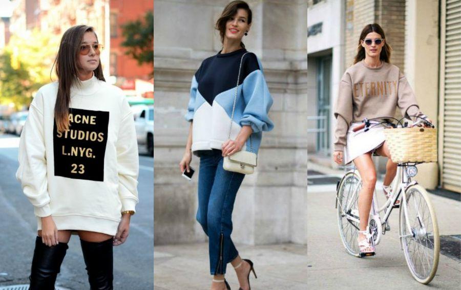 Modne stylizacje z bluzami