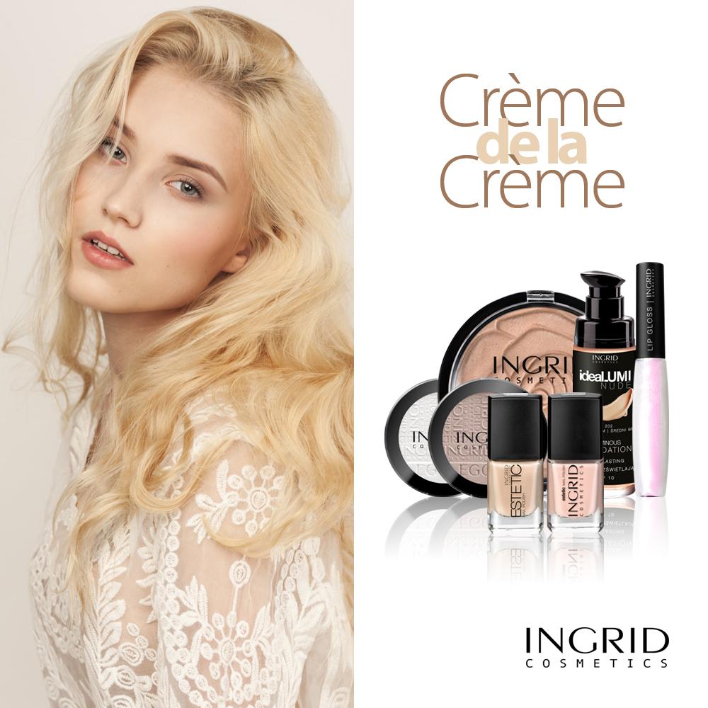 Makijaż rozświetlający Ingrid