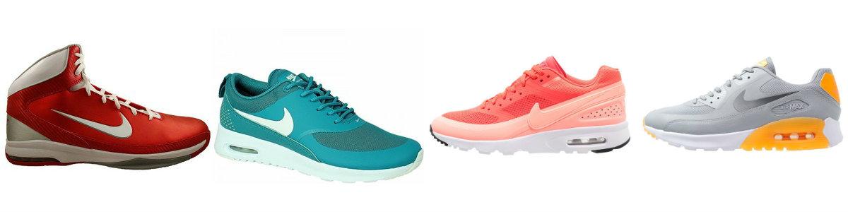 Nike Air Max (kolaż Szafencja)