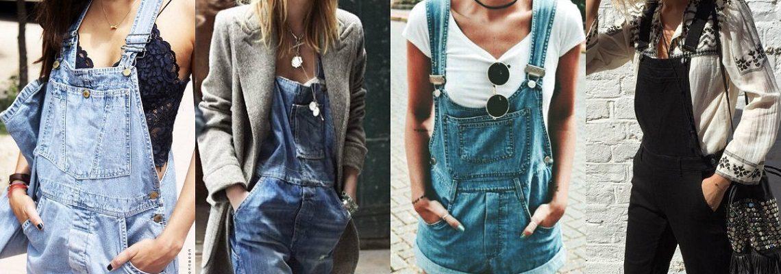 Ogrodniczki – z czym nosić oldschoolowe spodnie?