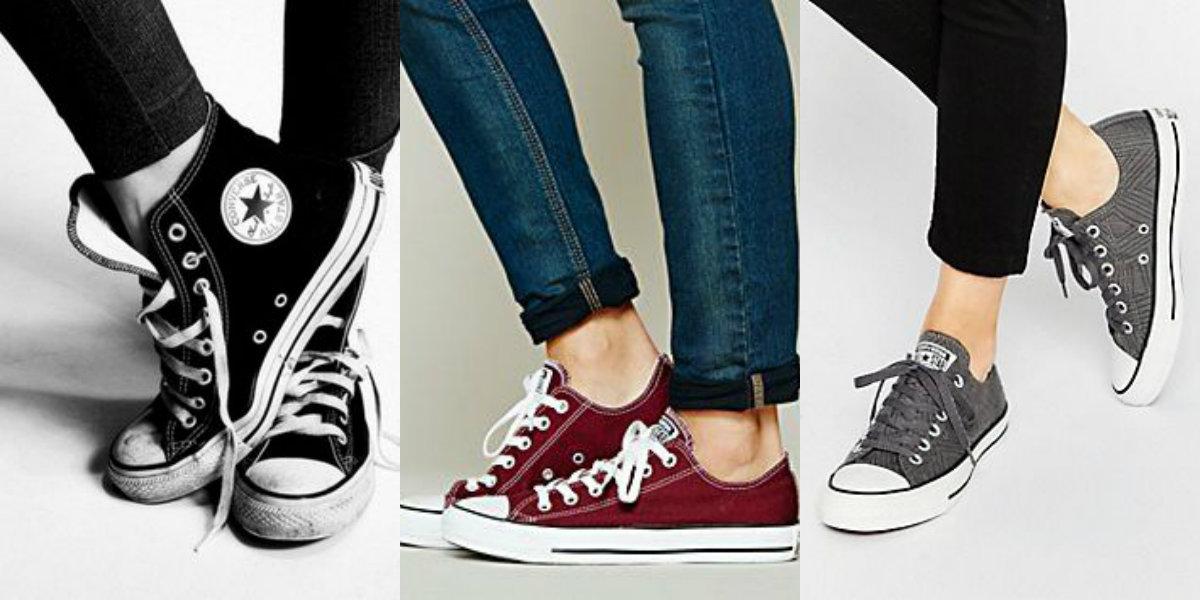 Klasyczne trampki Converse