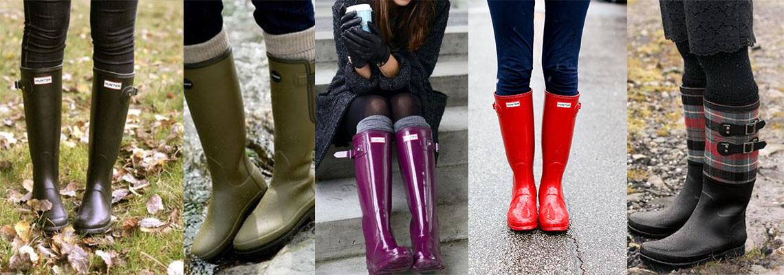 Kalosze: stwórz modną stylizację na deszczowe dni