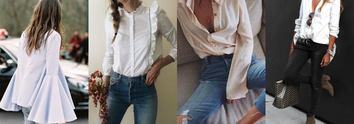 Eleganckie bluzki wcale nie muszą być nudne – sprawdź sama