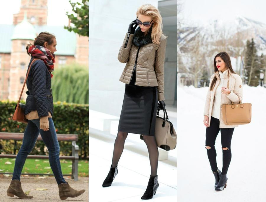 kurtki damskie pikowane jak nosić