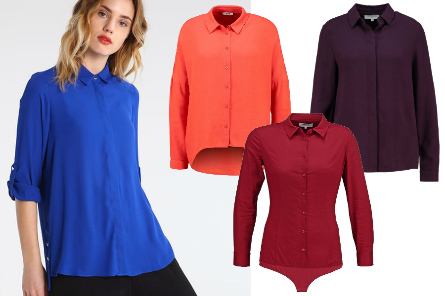 kolorowe koszule do pracy