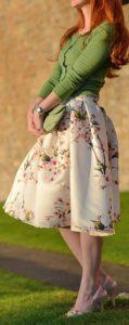 spódnice w kwiaty, choies.com