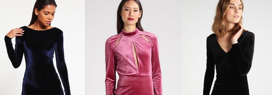 Jak nosić aksamitne sukienki