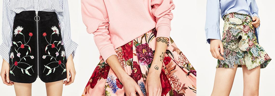 Spódnice w kwiaty – doskonała opcja na wiosnę