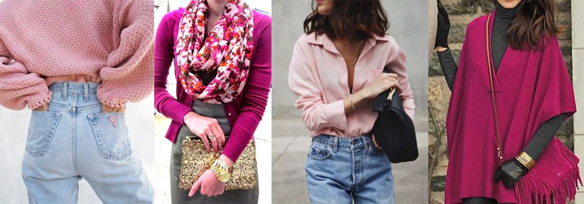 Modne kolory 2017: róż, fuksja i magenta