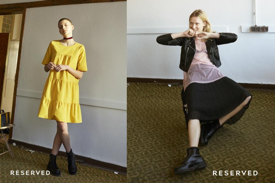 reserved wiosenna kolekcja damska