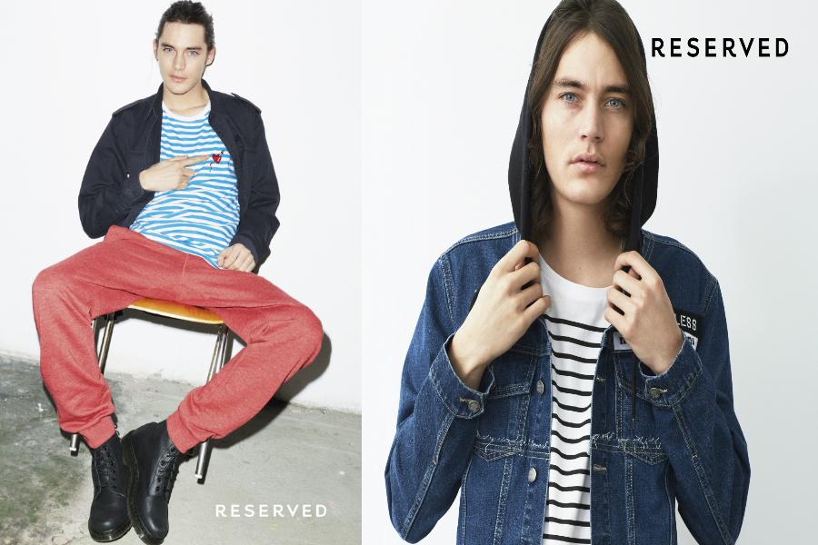 reserved wiosenna kolekcja męska