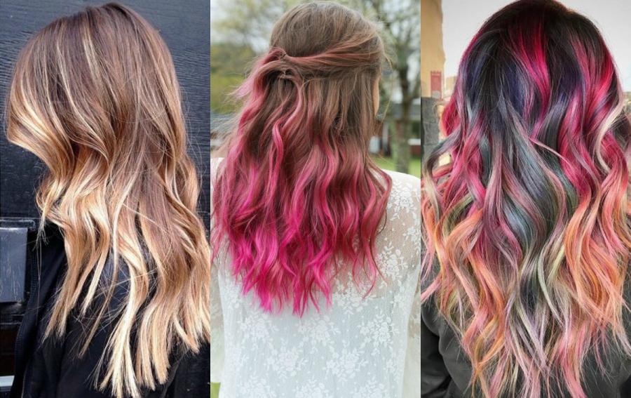 modne fryzury 2017 kolory