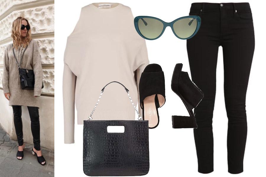 Markowe torebki : Jessica Mercedes z torebką Chanel Gabrielle Bag (instagram.com/jemerced/) / nasza stylizacja: materiał partnerów