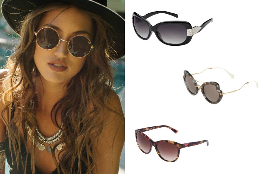 okulary przeciwsłoneczne klasycznie