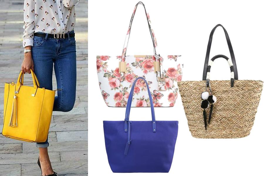 torebki na lato shopper