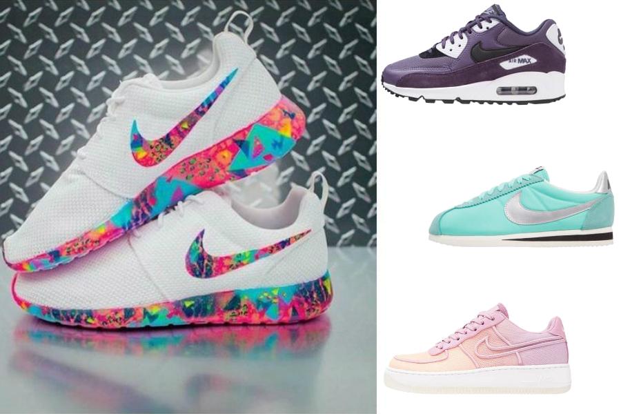 Kolorowe buty Nike