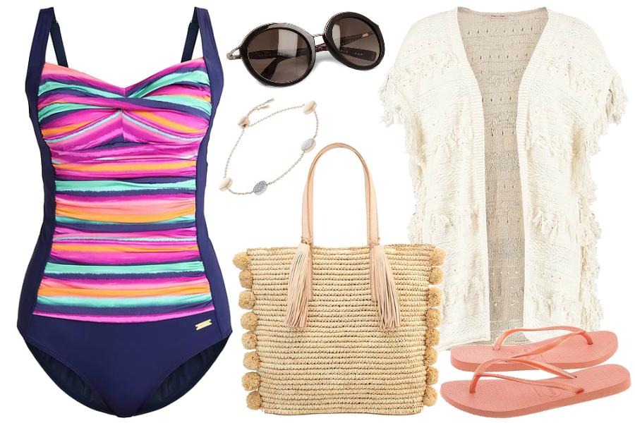 torby plażowe kostium