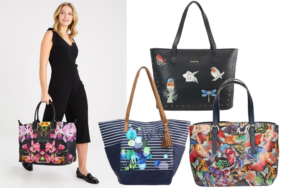 shopper bags wzory