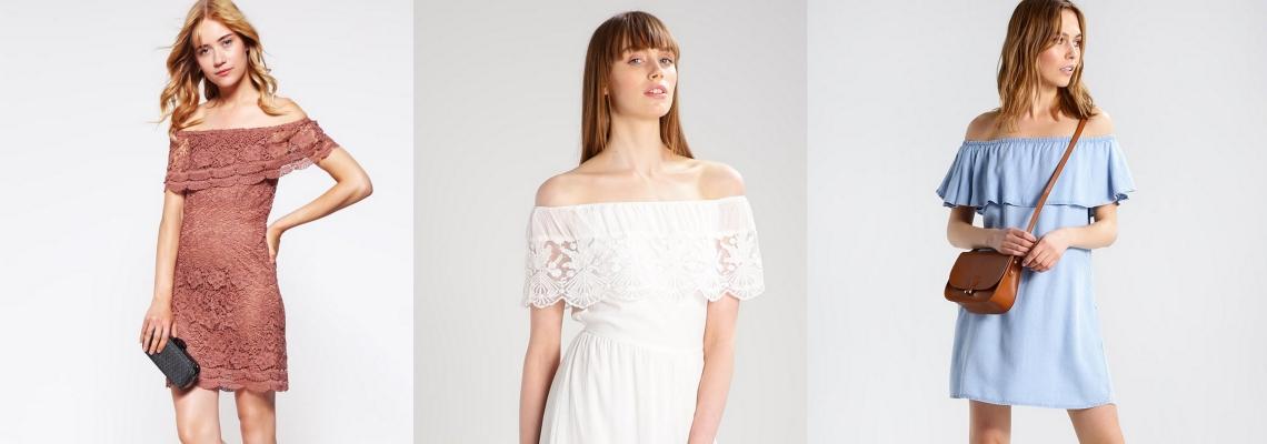 Sukienka hiszpanka w trzech zestawieniach na lato