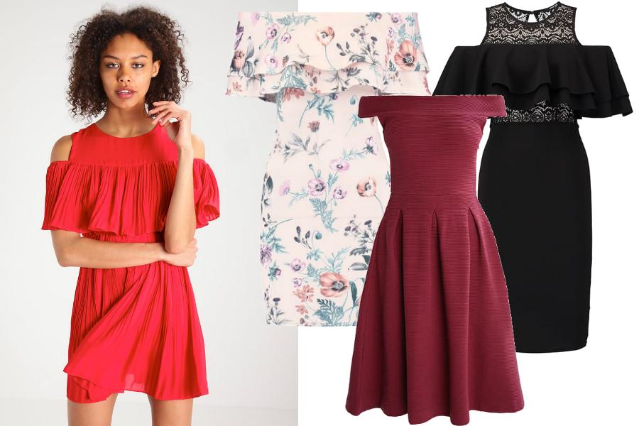 sukienki z wyprzedaży hiszpanki