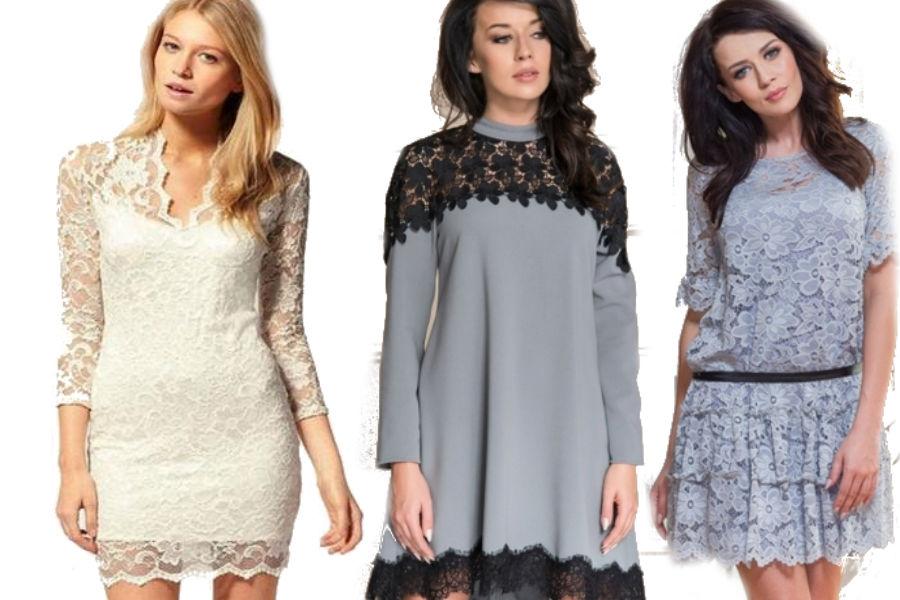 fot. materiały partnera/ koronkowe ubrania na jesień