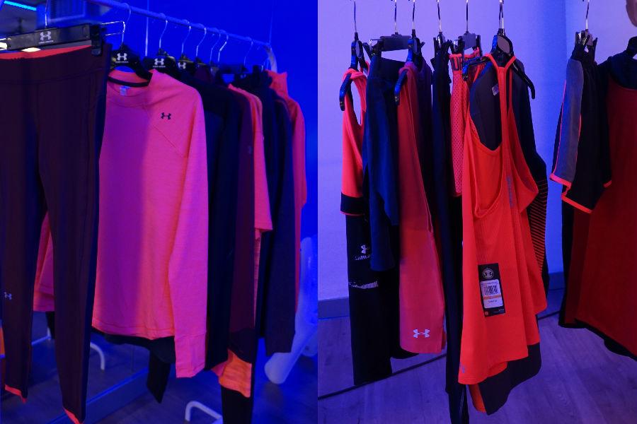 kolekcja sportowych ubrań Under Armour