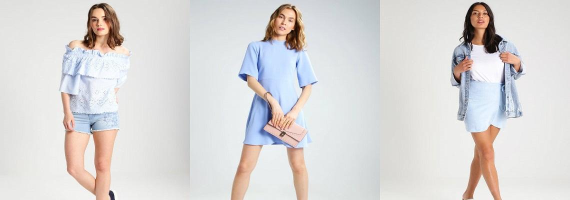 Baby blue – kolor który pokochasz latem