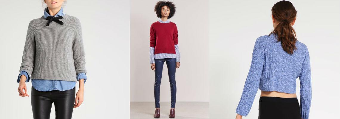 Wełniany sweter i skórzane spodnie – klasyka gatunku