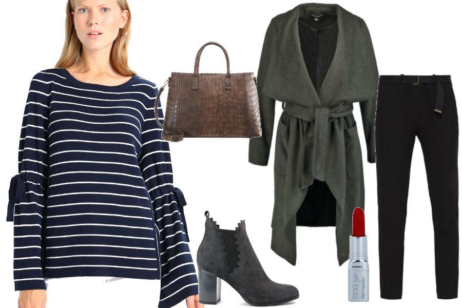 fot. modne swetry na jesien