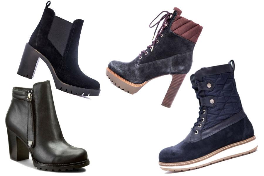 fot. modne buty na jesień marki Tommy Hilfiger