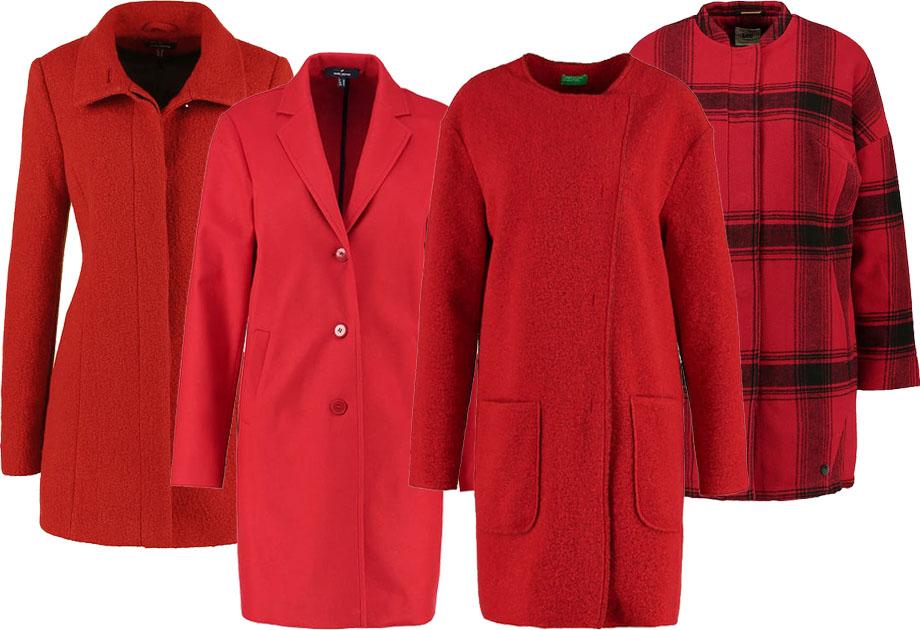 Kolaż / Materiały partnera / czerwone płaszcze