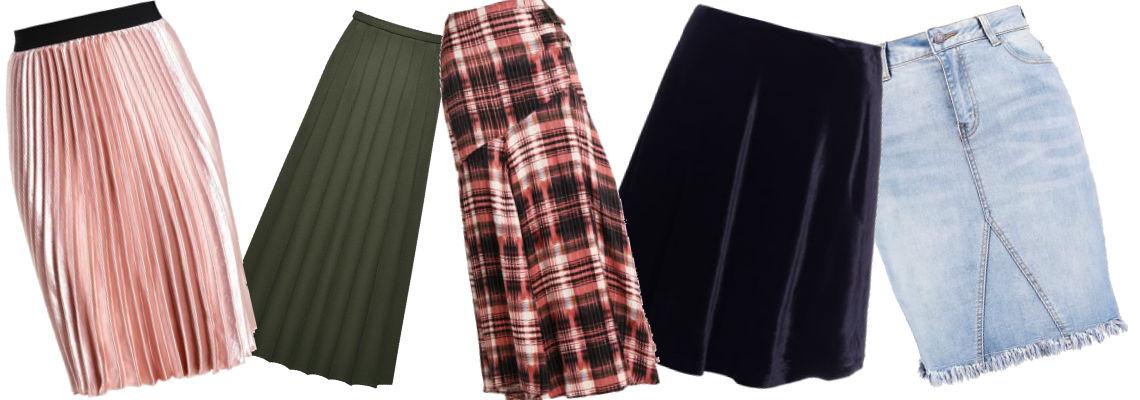 Najmodniejsze modele spódnic na jesień