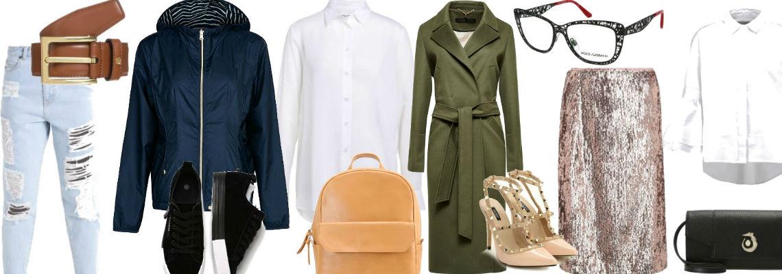 Co powinnaś mieć w swojej szafie?- część 1 (biała koszula)