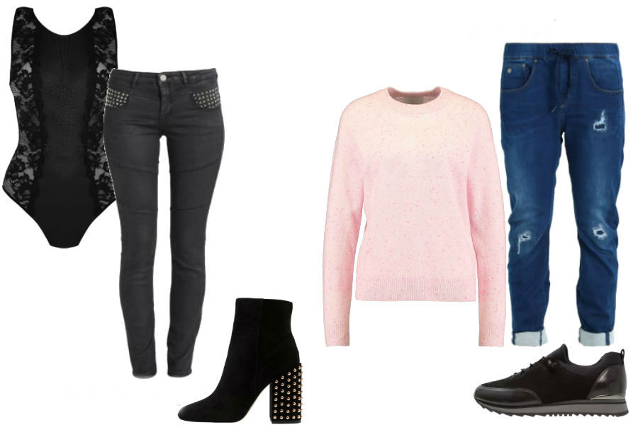 modne jeansy na różne okazje