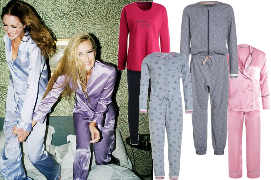 modne piżamy na noc