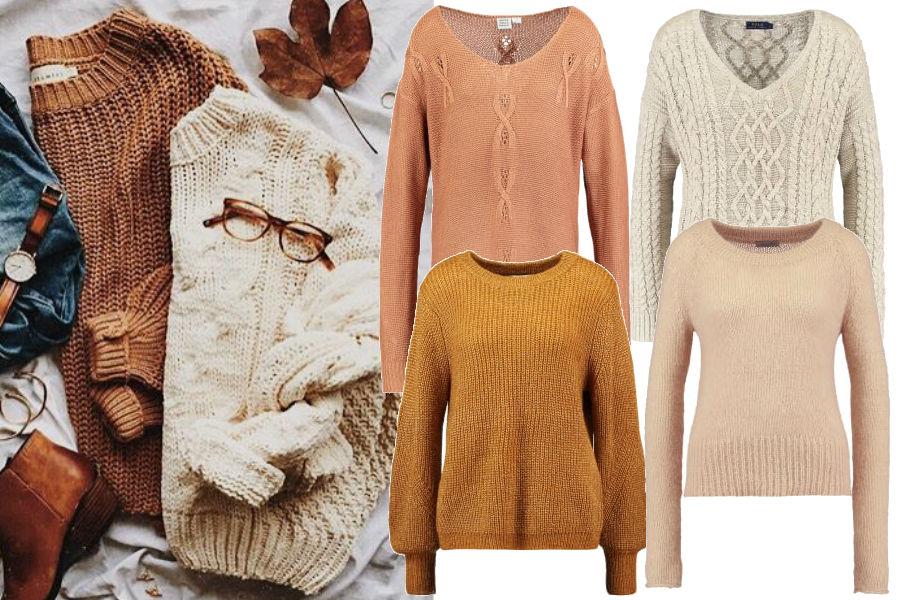 modne sweterki