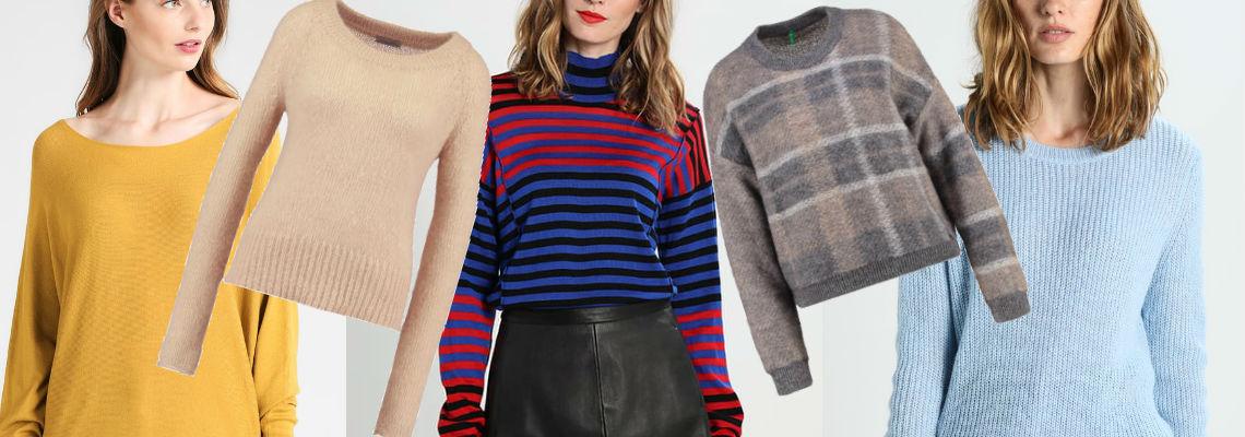 Sweter – obowiązkowy element jesiennej garderoby