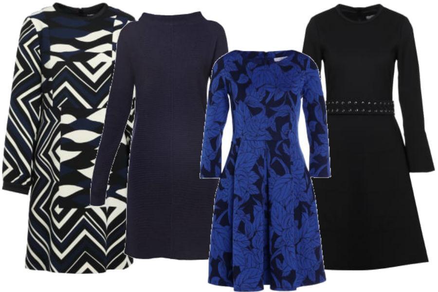 modne i ciepłe sukienki na jesień i zimę