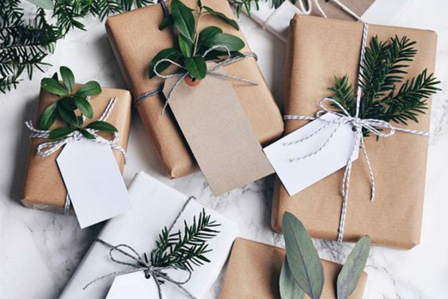 modne pakowanie prezentów