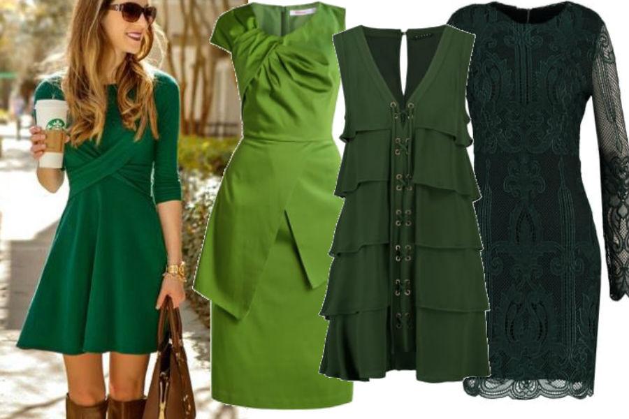 modne sumodne sukienki w kolorze zielonymkienki w kolorze zielonym