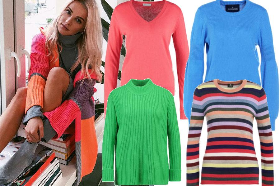 modne sweterki w stylu maffashion