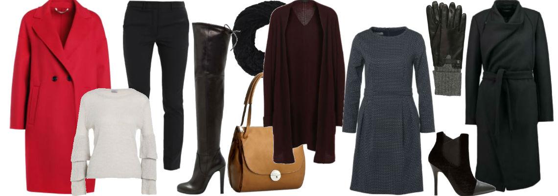 Eleganckie i ciepłe ubrania dla kobiet na jesień i zimę