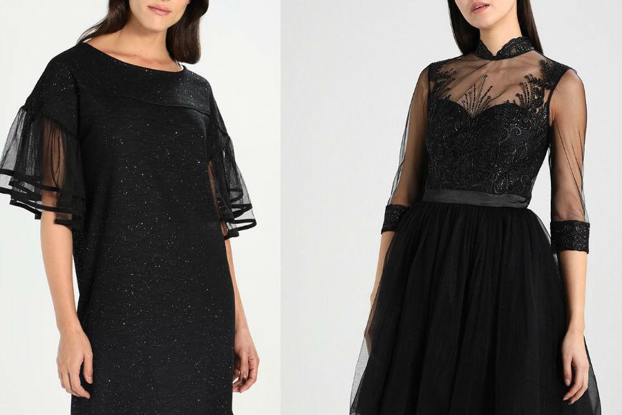 czarne sukienki na wiele okazji