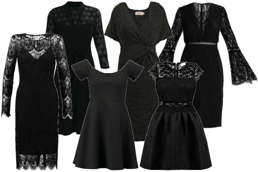 modne małe czarne na święta