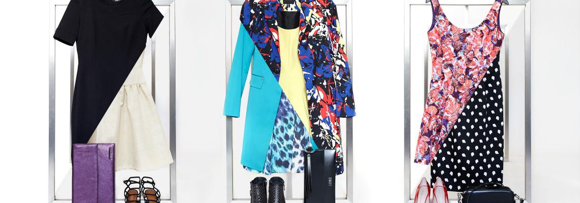 Sukienki Simple w sześciu różnych stylizacjach