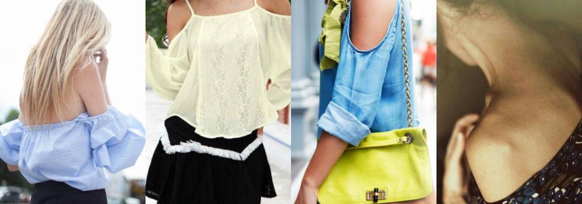 Bluzki z odkrytymi ramionami – jakie modele wybrać i z czym je łączyć