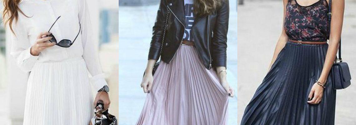 Spódnica plisowana – ciekawe modele i stylizacje