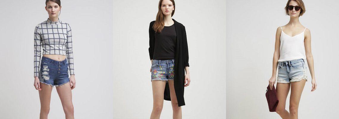 Szorty jeansowe w stylizacjach idealnych na lato